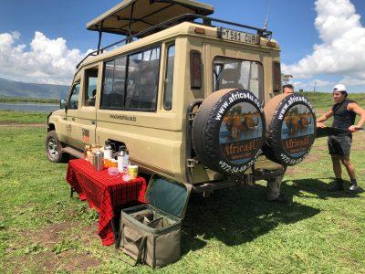 טיול ספארי רכב Africa4u פריסה
