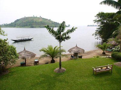En jawel, dit is het Kivumeer! Vlak aan de grens tussen Rwanda en de DR Congo. Author Martijn.Munneke from Netherlands